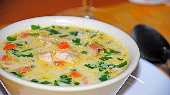 Куриный суп по-румынски