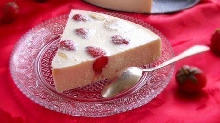 Творожно-фруктовый торт