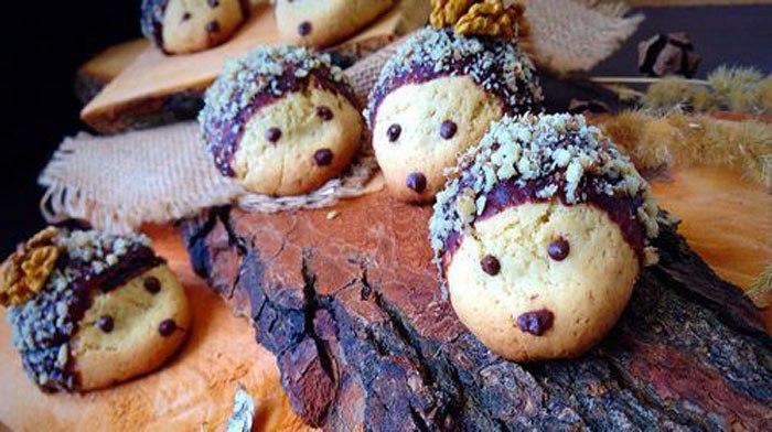 Печенья «Ёжики»