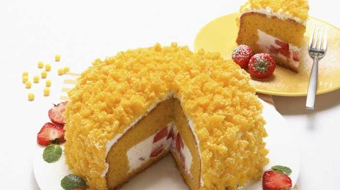 Торт «Мимоза»
