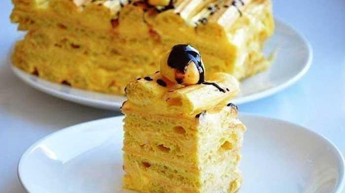 Торт из заварного крема