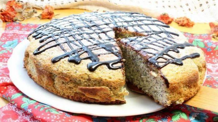 Маковый пирог - идеально для Рождества