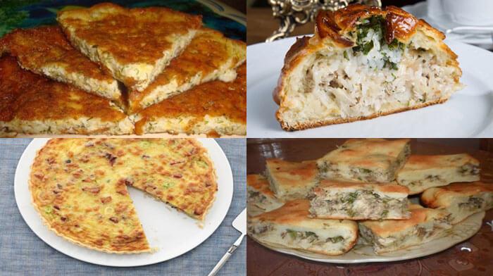 Быстрые и сытные пироги на ужин - 9 простых рецептов