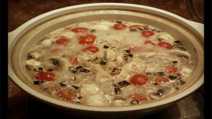 Том Кха Кунг - Острый тайский суп с креветками