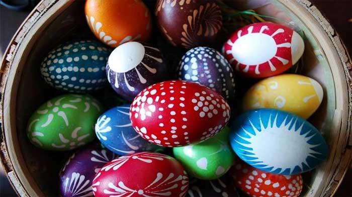 10 не химических способов окраски яиц