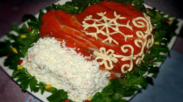 ТОП-4 салатов для Нового Года