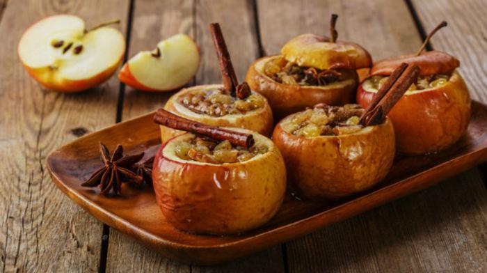 Запеченные яблоки. 7 вкусных десертов 7
