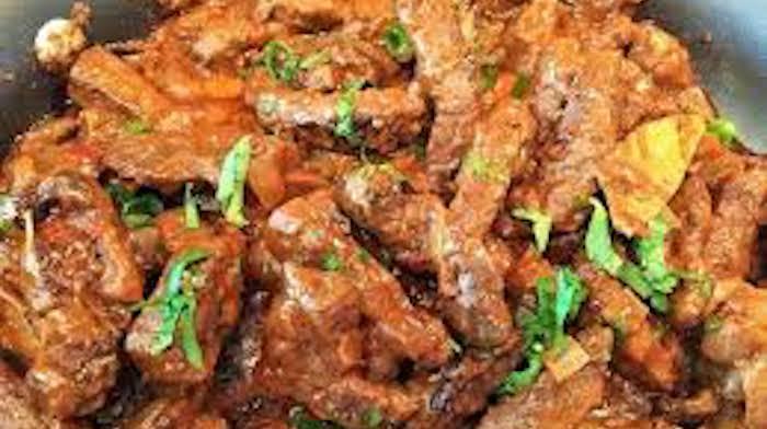 Печень говяжья быстро и вкусно
