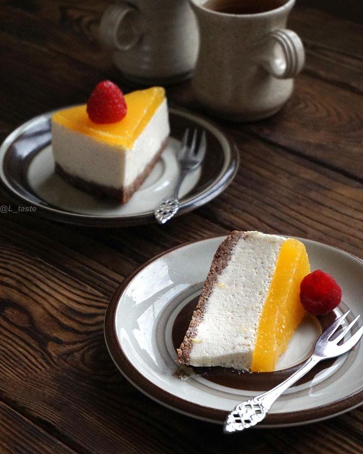 Муссовый торт без сахара