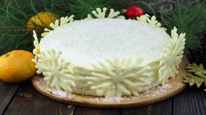 """Торт """"Зима"""""""