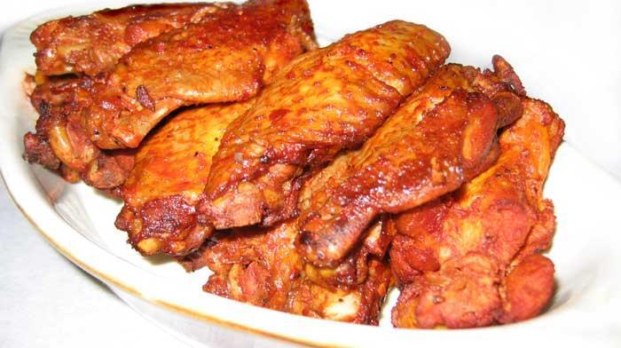Маринованные куриные крылышки