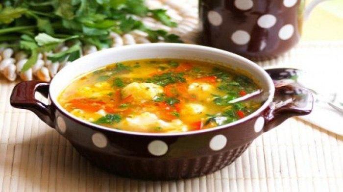 рецепт суп из брокколи с курицей рецепт