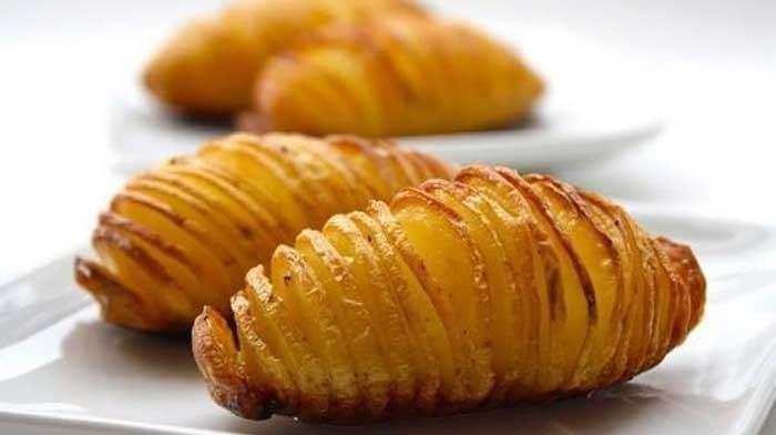 картофель с сыром по-шведски