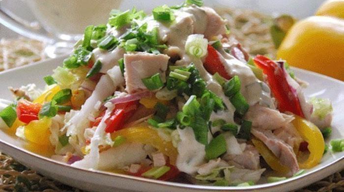 салат свежесть рецепт с крабовыми