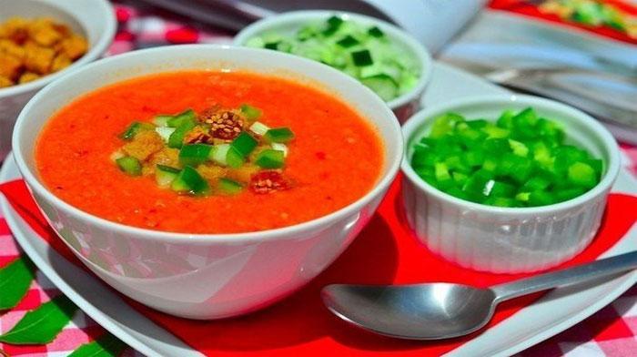Гаспачо - испанский холодный суп