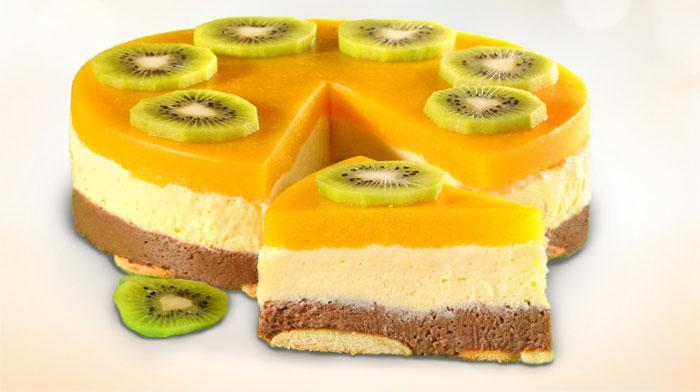 Торт без выпечки «Манный»