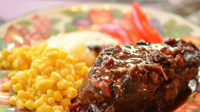 Тушеное мясо по-мексикански