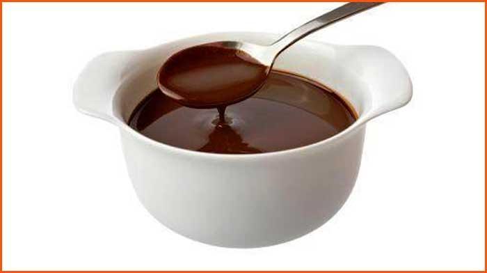 Шоколадный соус для десертов