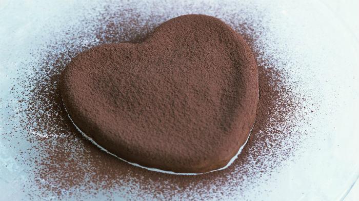 """Печенье """"Шоколадное сердце"""""""