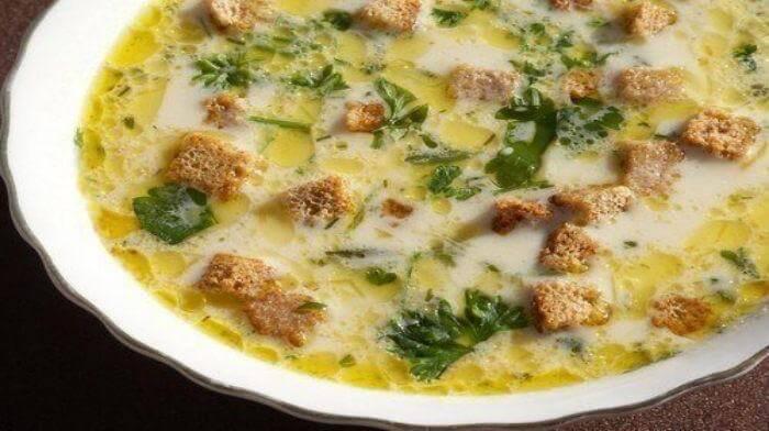 Лёгкий, тёплый, нежный суп