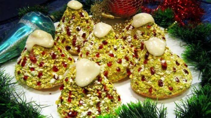 """Пирожное """"Рождественская Елочка"""""""