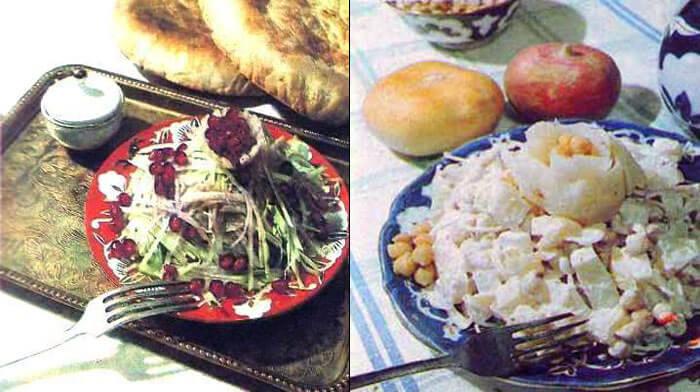 4 рецепта очень простых салатов