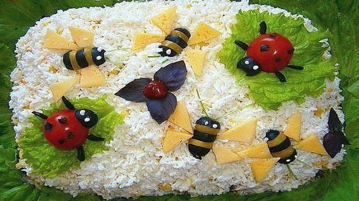 """Салат """"Пчелки"""""""
