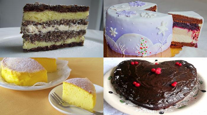 4 рецепта праздничных тортов