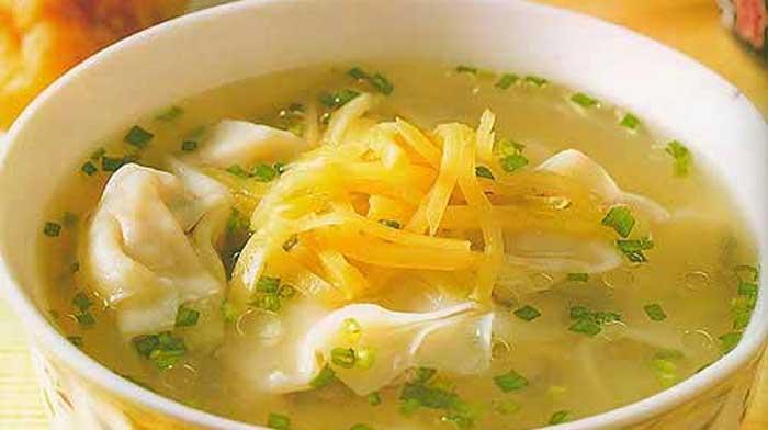 Китайский суп вонтон