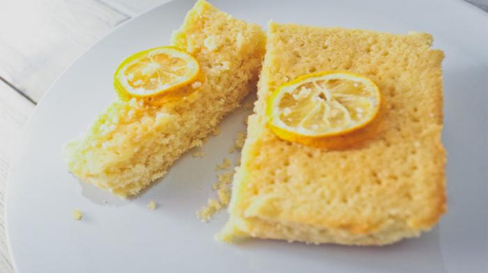 Лимонный кекс за 30 минут