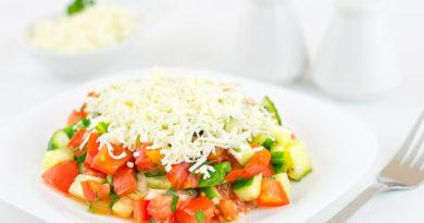 Шопский салат - болгарский рецепт