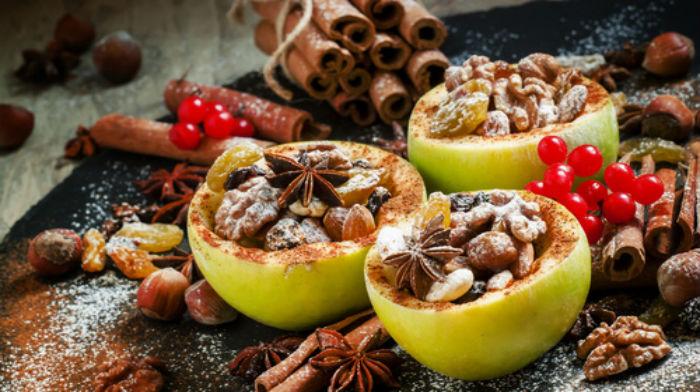 Запеченные яблоки. 7 вкусных десертов