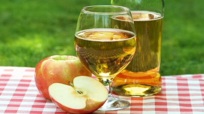Куриная грудка с яблоками и рецепт яблочного сидра