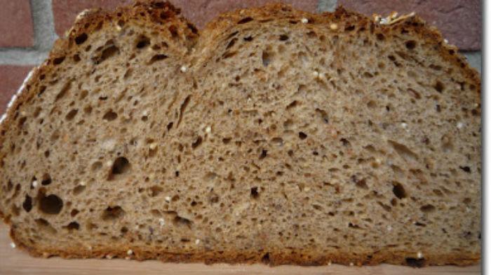 Sechskornbrot - шести-злаковый хлеб