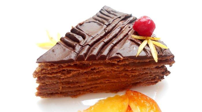 Очень шоколадный домашний торт