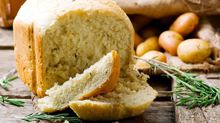 картофельный хлеб с розмарином
