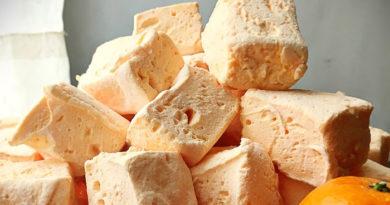 Домашний мандариновый зефир