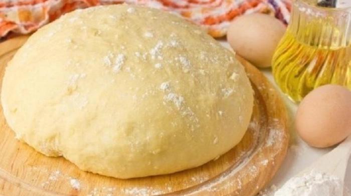 дрожжевое тесто на воде без яиц