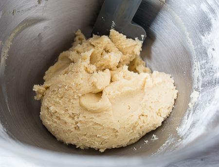 Трехслойный яблочный пирог - тесто
