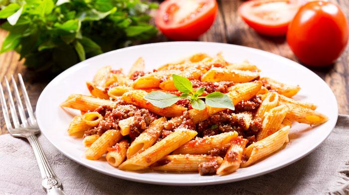 Итальянская кухня - Пенне болоньезе