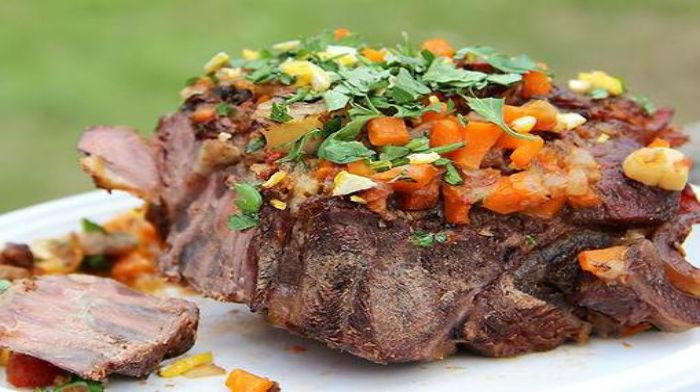 блюда из мяса для пикника